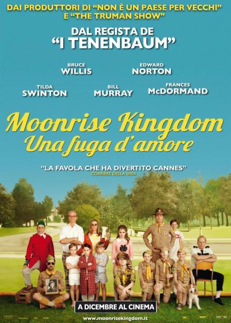 Moonrise Kingdom - Una fuga d'amore, USA 2012, regia di Wes Anderson